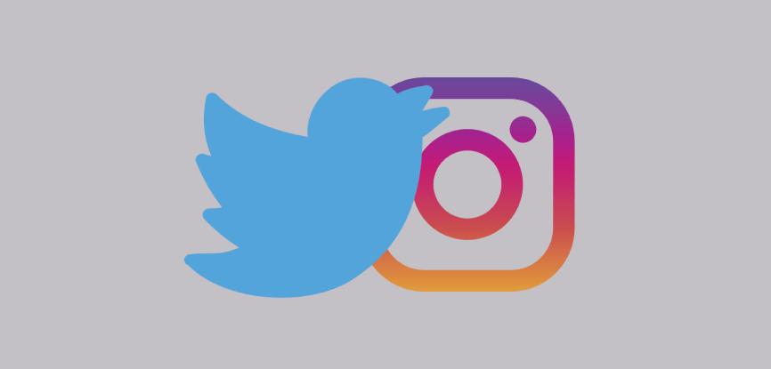 Twitter---instagram
