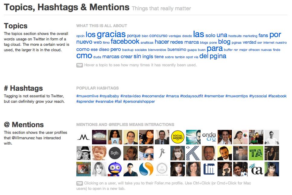 analisis de perfiles de twitter