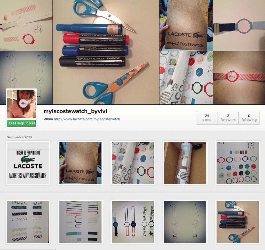 instagram mylacoste