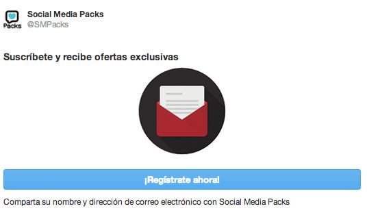 twitter cards mailchimp