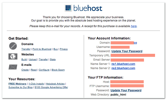 tutorial bluehost blog 5