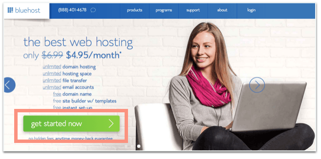 tutorial bluehost blog