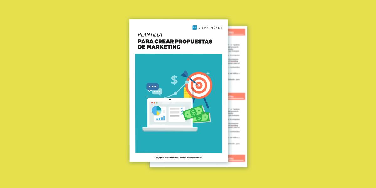 Plantilla para propuestas de marketing [Estrategias y ejemplos]