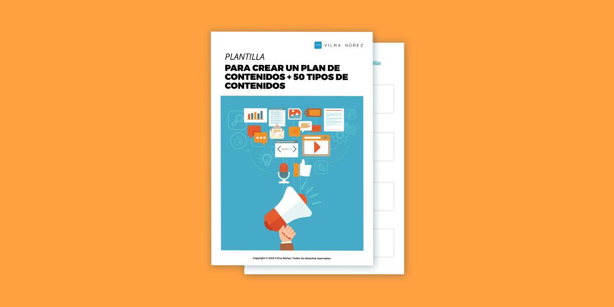 6 pasos para crear un plan de contenidos [Ejemplo y plantilla]