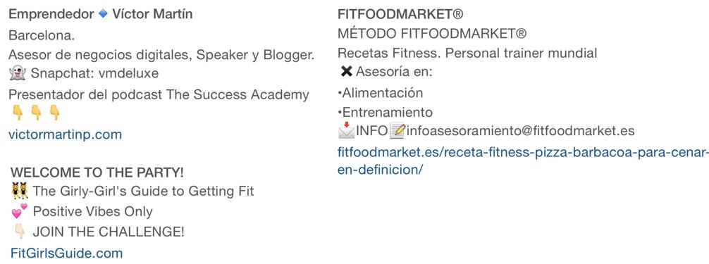 biografias bonitas instagram triunfagram