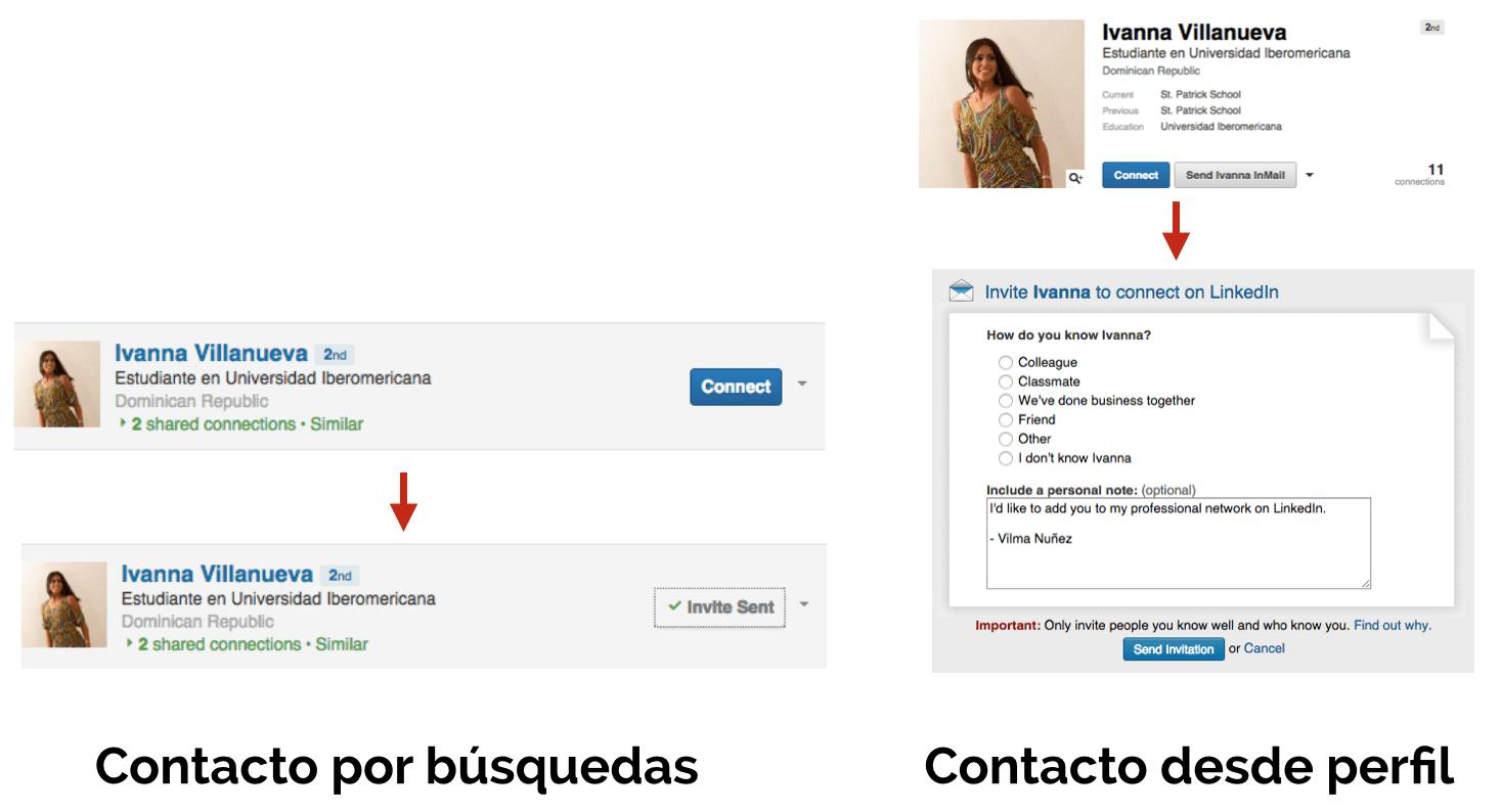 conectar por linkedin
