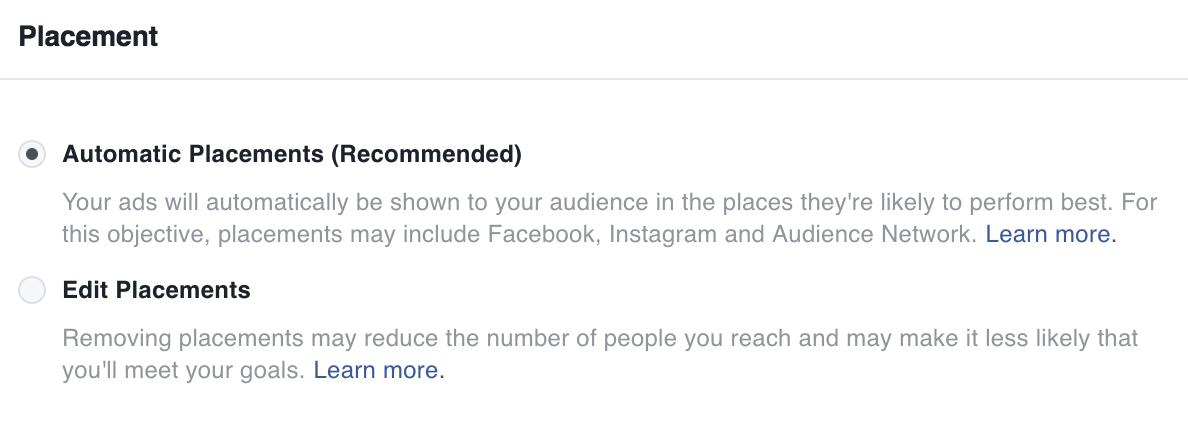 editar ubicacion anuncios instagram facebook ads