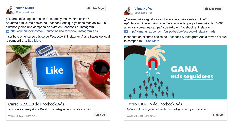 anuncios de facebook relevance score