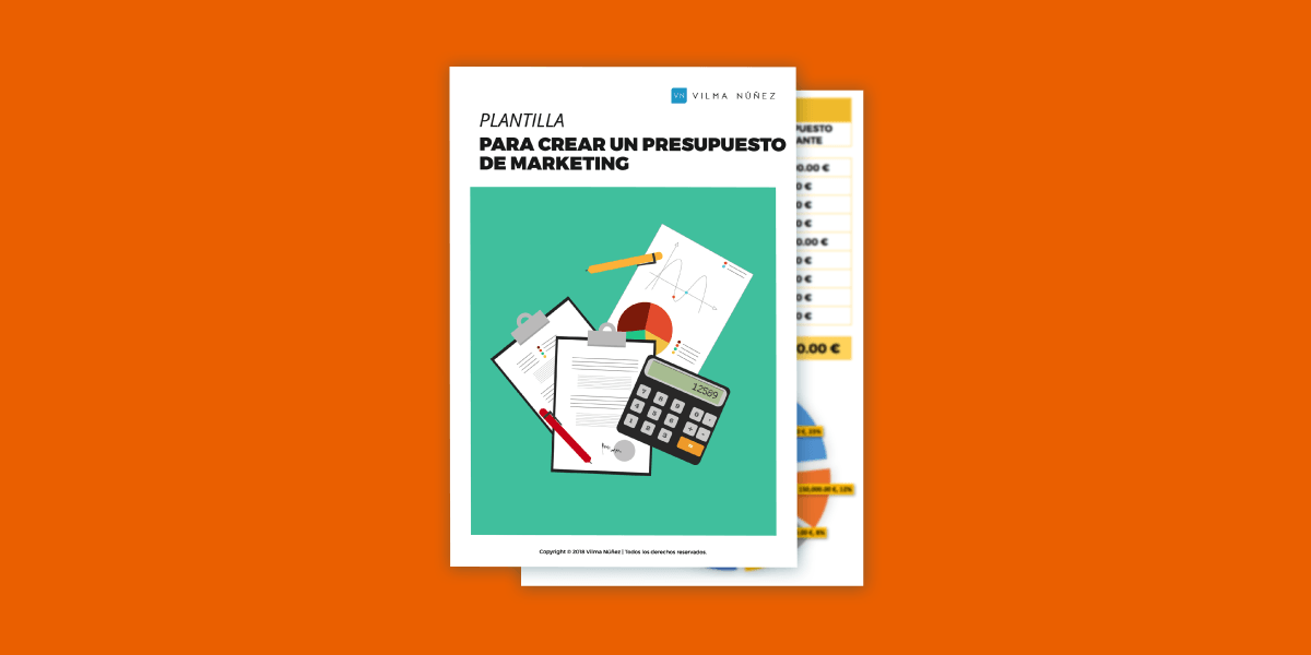 Plantilla para crear un presupuesto de marketing anual y global