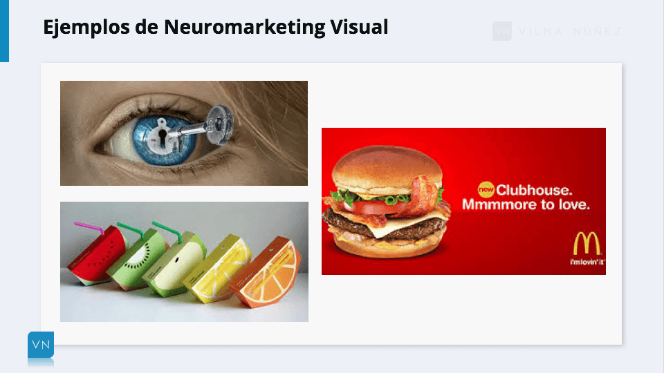 Ejemplos neuromarketing visual