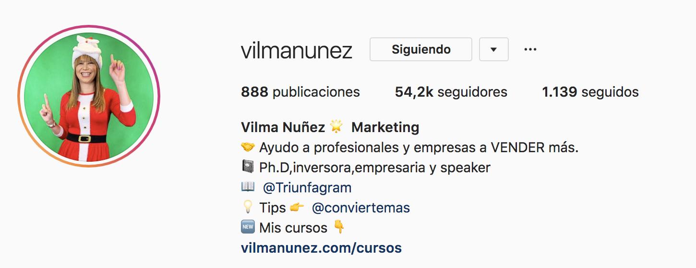 nombres de usuario para instagram vilmanunez