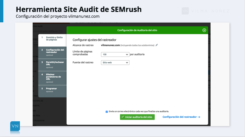 SEMrush - Site Audit