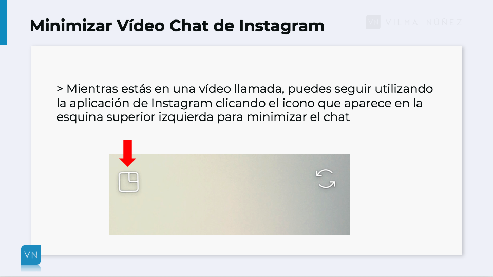 video chat de Instagram