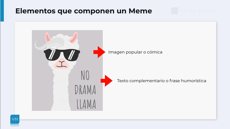 elementos para crear un meme