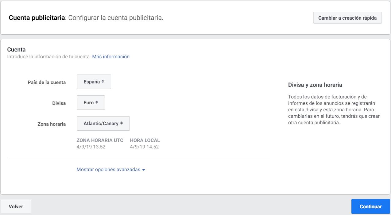 imagen 7 pasos para crear una cuenta de facebook ads
