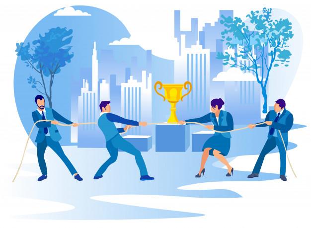 gente-competencia-empresarial-tirando-cuerda-taza_82574-7155