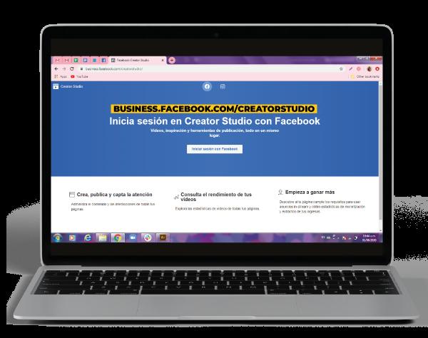 crear publicaciones con creator studio