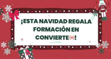 VN ¡Esta Navidad regala formación en Convierte Más! especial de ofertas de navidad
