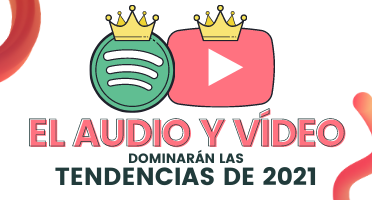 VN El audio y el vídeo dominarán las tendencias del 2021