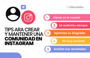 comunidad en Instagram