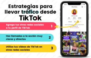 TikTok para aumentar el tráfico